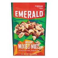 Emerald Deluxe Mixed Nuts, 5 oz Pack, 6/Carton
