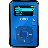 SanDisk Sansa Clip+ Ice Blue MP3 Player