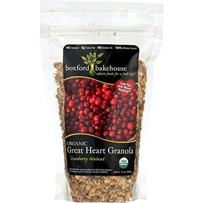 Great Heart Granola - Cranberry Walnut 12 oz. (Pack of 6)