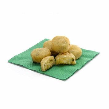 Golden Crisp Breaded Jalapeno Cheddar Potato Bites, 3 Pound - 4 per case.