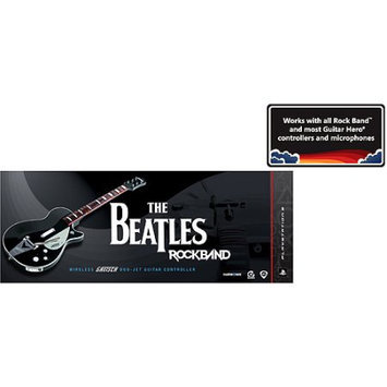 Electronic Arts PS3, The Beatles: Rock Band Wireless Gretsch Duo-Jet Guitar Controller