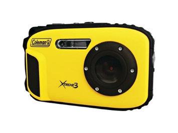 Coleman Xtreme3 C9WP Shock & Waterproof 1080p HD Digital Camera (Yellow)