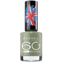 Rimmel London 60 Seconds Nail Polish, Sage All The Rage