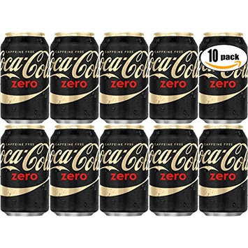 Coke Zero, Caffeine Free, 12 oz Can (Pack of 20, Total of 240 Oz)