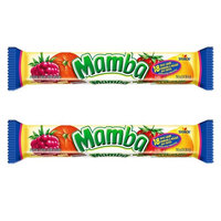 Mamba Fruit Chewy Candy 2.65oz, 2 Packs (Fruit Chews)