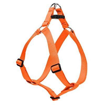 Lupine Pet Lupine 52544 .75 in. Blaze Orange 15 in. - 21 in. Step in Harness
