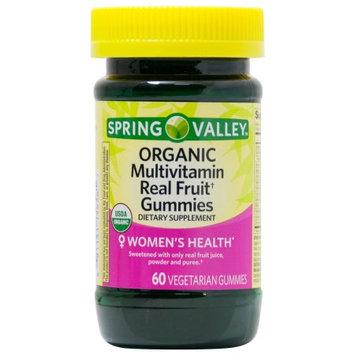 Spring Valley  Women's Organic Multivitamin Real Fruit Gummies