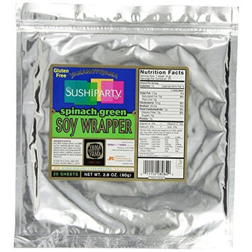 YAMAMOTOYAMA SUSHIPARTY™ Spinach Green Soy Wrapper