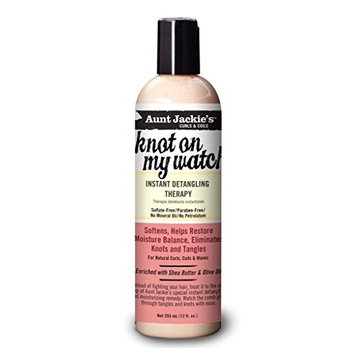 LIMITED AUNT JACKIE'S CURL KNOT ON MY WASH DETANGLING THERAPY 12oz (bonus size)
