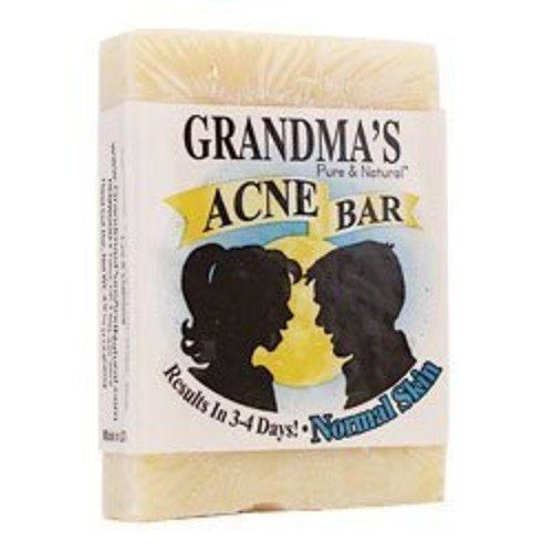 Grandma's Pure and Natural Acne Bar 4 ounce