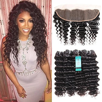 Brazilian Deep Wave Bundles, UDU 8A Grade 4 Bundles Deep Curly 50g/ Bundle Totally 200g Remy Hair Extensions Malaysian Loose Deep Wave Bundles
