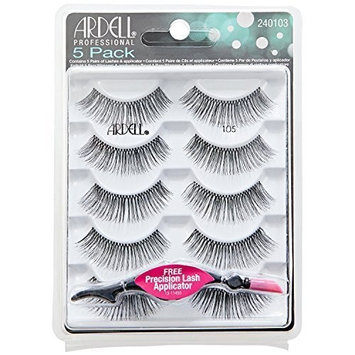 Ardell Black Lashes #105 5 Pack by Ardell
