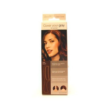 Cover Your Gray Color Comb - Dark Brown (Pack of 3)