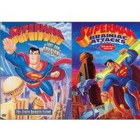 Warner Brothers Superman: Last Son Of Krypton/Brainiac Attacks (DVD)