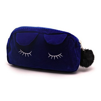 Stylish Kawaii Kitty Ear Cosmetic Bag Makeup Organizer