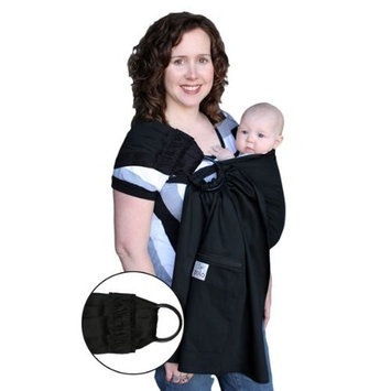 ZoloWear Pleated Baby Sling: Metro Black, Large