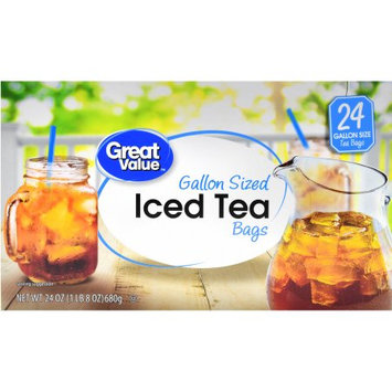 Wal-mart Stores, Inc. Great Value Gallon Sized Iced Tea Bags, 24 ct, 24 oz