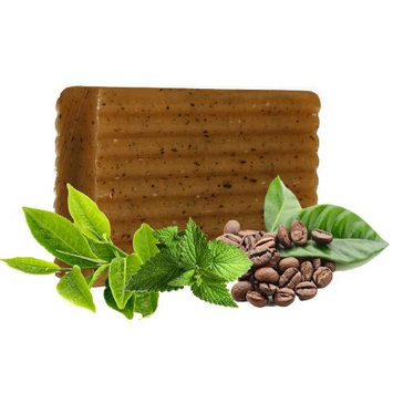100% Natural Anti Cellulite Vegan Plant Based 2 Pack Body Soap Bar with Moisturizing Coconut & Olive Oils