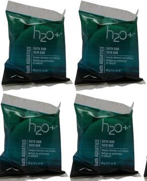 H2o+ Beauty H2O+ bath Aquatics Bath Bar Soap lot of 4 1.5oz bars. Total of 6oz (Pack of 4)