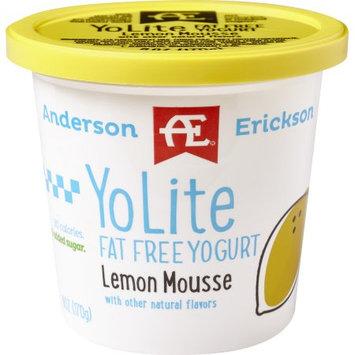 Anderson Erickson Dairy AE LEMON MOUSSE YO-LITE FAT FREE YOGURT