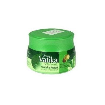 Dabur Vatika Naturals Styling Hair Cream - Henna, 4.7-Fluid Ounce