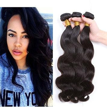 CCOLLEGE Hair Brazilian Body Wave 3 Bundles Grade 8A Human Hair 100% Remy Human Hair Brazilian Virgin Hair Extensions