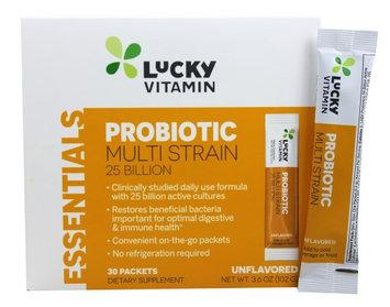 LuckyVitamin - Probiotic Multi Strain 25 Billion Unflavored - 30 Packet(s)