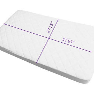 Babyworks Baby Works Quilted and Fitted Bamboo Crib Mattress Protector