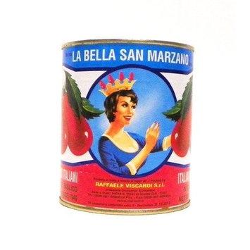 La Bella San Marzano Tomatoes in Tomato Puree w/ Basil, 28 oz (Pack of 12)