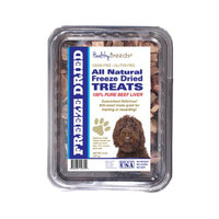 Healthy Breeds 840235147299 10 oz Labradoodle All Natural Freeze Dried Treats Beef Liver