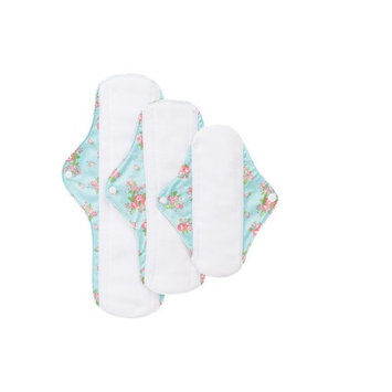 Dahlia Cloth Reusable Feminine Menstrual Pads, Sanitary Napkin, Unscented, Washable