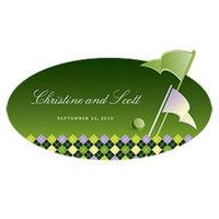 Weddingstar 1057-18-c03 Golf Large Cling- Classical Green