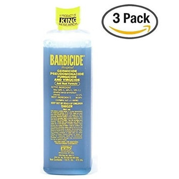 Barbicide Disinfectant Anti Rust Formula 16 Oz (Pack of 3)