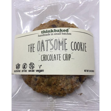 Thinkbake the OatSome Cookie - Choco chip ( 5 Packs / 2.8oz )