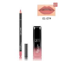 Lipstick Set,Putars Fashion New Long Lasting Lipstick Waterproof Matte Liquid Gloss Lip Liner Cosmetics Set