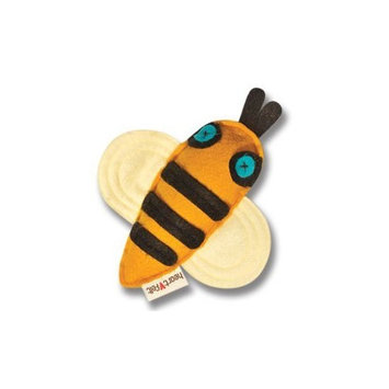 Bazza Bee Heart Felt Creations Crinkle Dingle Bell Toy