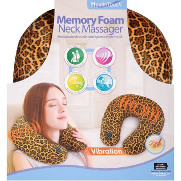 Leader Light Limited Health Touch Memory Foam Neck Massager, Cheetah