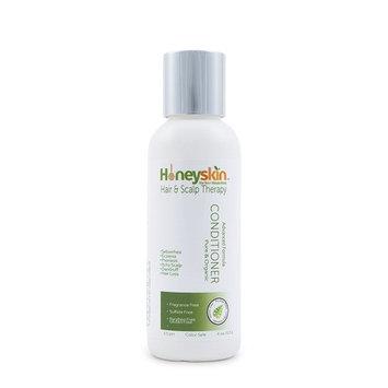 Gentle Moisturizing Deep Conditioner with Manuka Honey + Aloe Vera for Scalp Psoriasis, Eczema and Dermatitis (4oz) by Honeyskin Organics