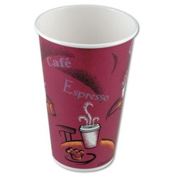 Bistro cup ppr hot 8oz 50/pk 20/cs [PRICE is per CASE]