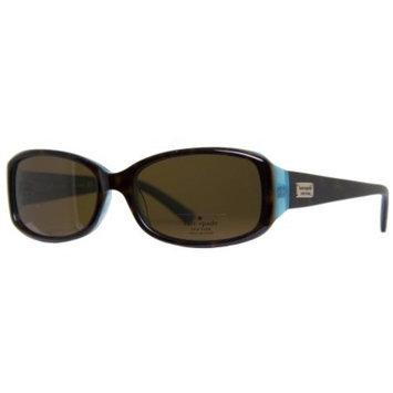 Kate Spade New York Paxton/N/S JEYP Tortoise Brown Aqua Women's Sunglasses