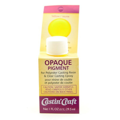 Castin Craft Opaque Pigments yellow, bottle, 1 oz. [pack of 2]