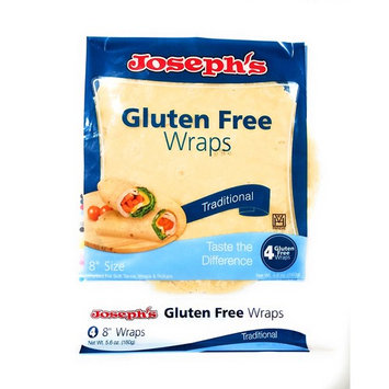 Joseph's Gluten Free Wraps Traditional, 4 Tortillas, 8 Inches [Traditional]