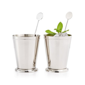 CLOSEOUT! Set of 2 Mint Julep Glasses, Created for Macy's