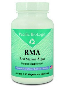 Pacific Biologic RMA (Red Marine Algae) 540 mg 30 vcaps
