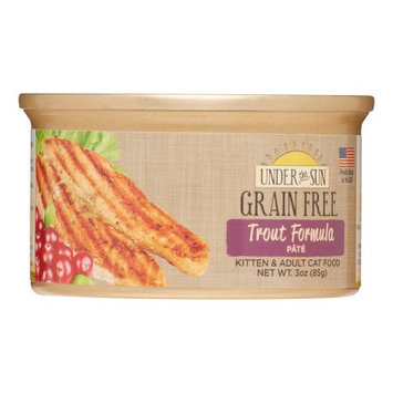 Animal Supply Company CD82045 Grain Free Cat Trout - 3 oz.