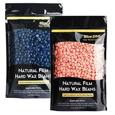 Dovewill 2 Pack 250g Depilatory Hot Film Wax Bean Pellet For Body Bikini Hair Removal