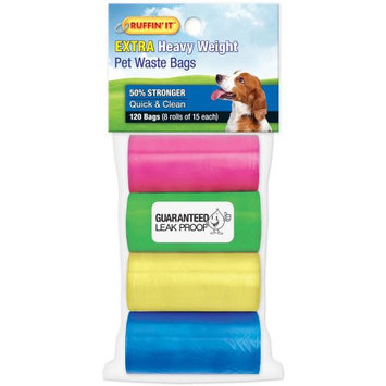 Westminster Pet Westminister Pet Ruffin it Pet Waste Bags 120 bags