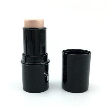 BranXin(TM) Highlighter Sticker All Over Shimmer Highlighting Powder Creamy Texture Water-proof Silver Shimmer Light