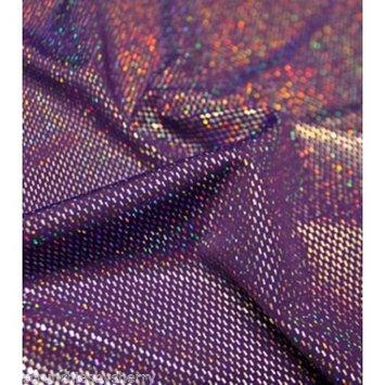 Foil Metallic Spandex Hair Scrunchie Handmade by Scrunchies by Sherry