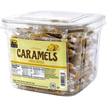 Pennsylvania Dutch Candies Fresh Orange Artisan Caramels, 192 count
